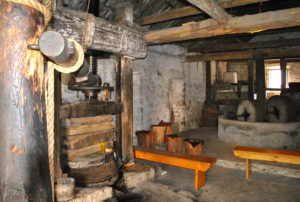 Unutrašnjost mlinice